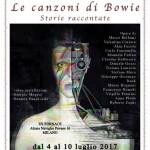 Locandina mostra David Bowie