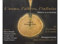 """L'UOMO – L'ALBERO  – L'INFINITO"""" a cura di A. Baito"""